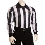 "Kentucky (KHSAA) 2"" Stripe Foul Weather Football Referee Shirt"