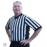 Smitty Performance Mesh V-Neck Referee Shirt with Side Panels