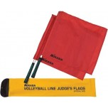 Mikasa Premium Red Volleyball Linesman Flags