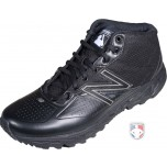 New Balance MLB All-Black Mid-Cut Umpire Base Shoes