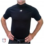 New Balance Challenger Mock Neck Short Sleeve Compression Shirt