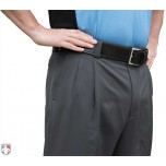 Smitty Performance Poly Spandex Charcoal Grey Umpire Base Pants with Expander Waistband