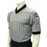Missouri (MSHSAA) Grey V-Neck Short Sleeve Referee Shirt