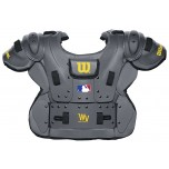 Wilson MLB West Vest Platinum Umpire Chest Protector